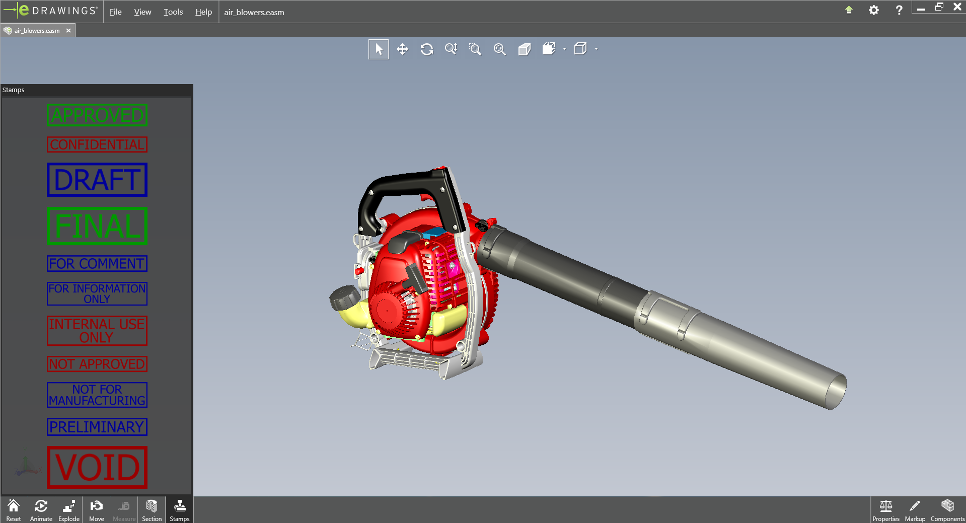 eDrawings for Autodesk Inventor | eDrawings Publishers